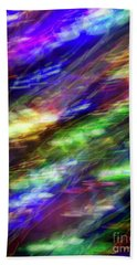 Chromatic Current Bath Towel