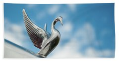 Chrome Swan Hand Towel