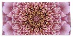 Chrysanthemum Kaleidoscope Bath Towel