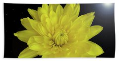 Chrysanthemum Star Hand Towel