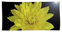 Chrysanthemum Star Bath Towel