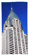 Chrysler Building Hand Towel
