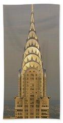 Chrysler Building New York Ny Hand Towel
