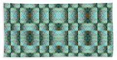 Bath Towel featuring the mixed media Chuarts Epic Illusion 1b2 by Clark Ulysse