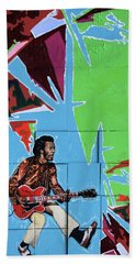 Chuck Berry Bath Towel