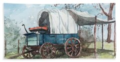 Chuck Wagon Bath Towel
