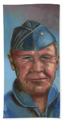 Chuck Yeager Bath Towel