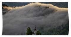 Hand Towel featuring the photograph Church Of St. Thomas - Slovenia by Stuart Litoff