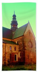 Church Of The Blessed Virgin Mary And St. Florian In The Wachock Bath Towel