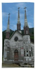 Bath Towel featuring the photograph Church Of The Holy Cross by Rod Wiens