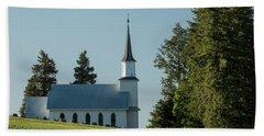 Church On The Hill Bath Towel