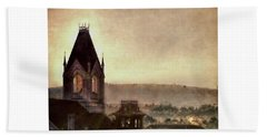 Church Steeple 4 For Cup Hand Towel