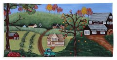 Cider Valley Bath Towel