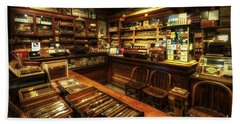 Cigar Shop Bath Towel