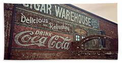 Cigar Warehouse Greenville Sc Hand Towel by Kathy Barney