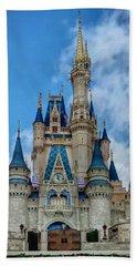 Cinderella Castle Hand Towel