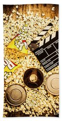 Cinema Of Entertainment Bath Towel by Jorgo Photography - Wall Art Gallery