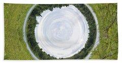 Circle Lake... Hand Towel