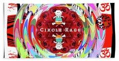 Circle Rage Hand Towel