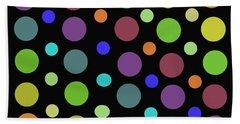 Circles N Dots C21 Hand Towel