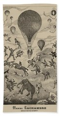 Circus Balloon Hand Towel