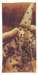 Circus Puppeteer  Hand Towel