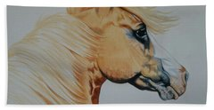 Palomino Paint - Cisco Bath Towel by Cheryl Poland