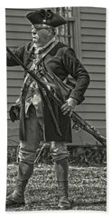 Citizen Soldier Bath Towel by Stephen Flint