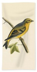 Citril Finch Hand Towel
