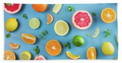 Citrus Summer Bath Towel