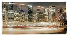 City Blur Bath Towel