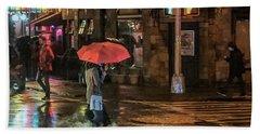 City Colors Hand Towel by Jeffrey Friedkin