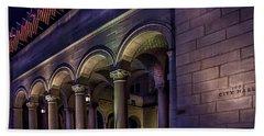 City Hall At Night Hand Towel