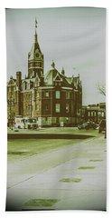 City Hall, Stratford Bath Towel