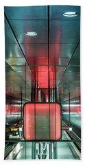 City Metro Station Hamburg Bath Towel
