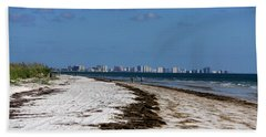 City Of Clearwater Skyline Bath Towel