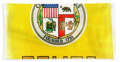 City Of Los Angeles - Police Bath Towel