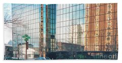 City Reflections Bath Towel by Ansel Price