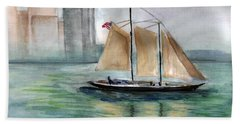 City Sail Hand Towel