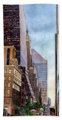 City Sunrise Bath Towel