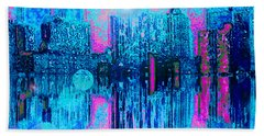 City Twilight Hand Towel