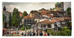 City - Veliko Tarnovo Bulgaria Europe Bath Towel