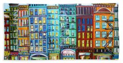 City Windows Bath Towel
