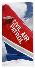 Civil Air Patrol Aircraft Bath Towel