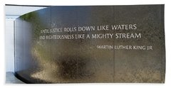 Civil Rights Memorial Bath Towel