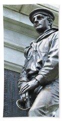 Civil War Memorial - Fitchburg, Ma Bath Towel