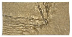 Clams And Ripples Hand Towel