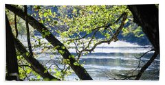 Clarion River From The Forest Bath Towel