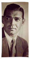 Clark Gable, Vintage Movie Star Hand Towel