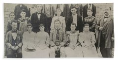 Class Of 1894  Bath Towel